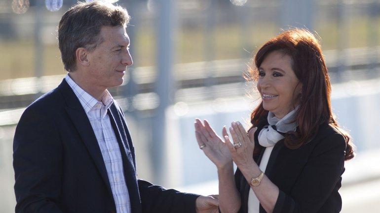 Mauricio Macri y Cristina Kirchner, cuando la relación circulaba por los carriles de la normalidad