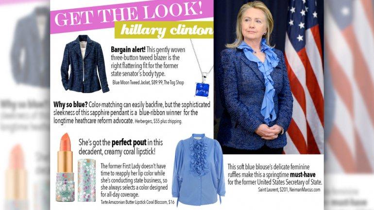 El blog de moda que analiza los looks de los políticos