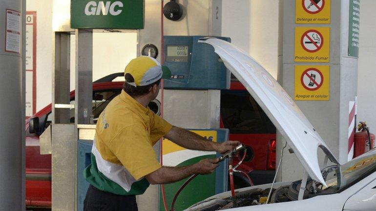 El GNC aumenta un 220%