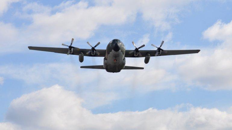 Foto de archivo. Un avión Hércules pidió autorización para aterrizar de emergencia en Río Gallegos