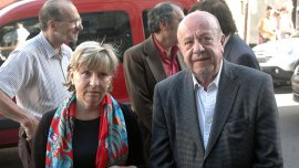 Osvaldo Mércuri y María Elena Torresi.
