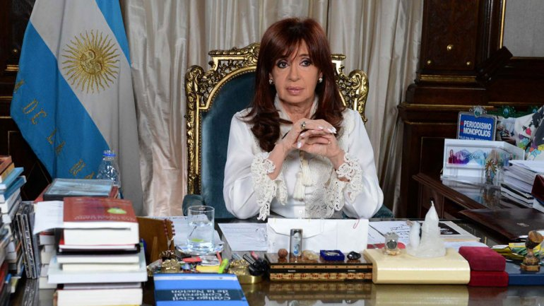 Cristina Kirchner anunció el envío al Congreso de la reforma al Código Procesal Penal