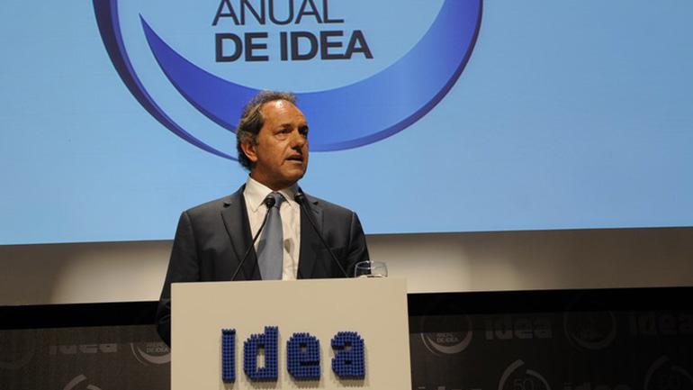 El Gobierno volvió a cuestionar a IDEA y Scioli tildó de ingratas las críticas de empresarios