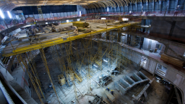 El Gobierno trabaja para inaugurar la monumental obra en mayo de 2015