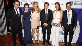 Gastón Manes, Josefina Manes, Daniela Vranncic, Facundo Manes, Marcelo Savransky y esposa