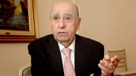 Ex presidente uruguayo Julio María Sanguinetti