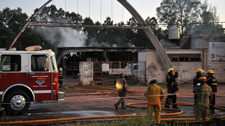 Informe del Municipio sobre la explosión en TotalGaz y la provisión de garrafas sociales