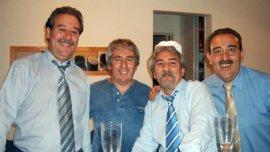 Luis Zacarías, Rubén Zacarías, Miguel Zacarías y Máximo Zacarías