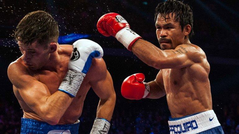 Manny Pacquiao habló sobre el reto a pelear lanzado por el norteamericano Floyd Mayweather Jr