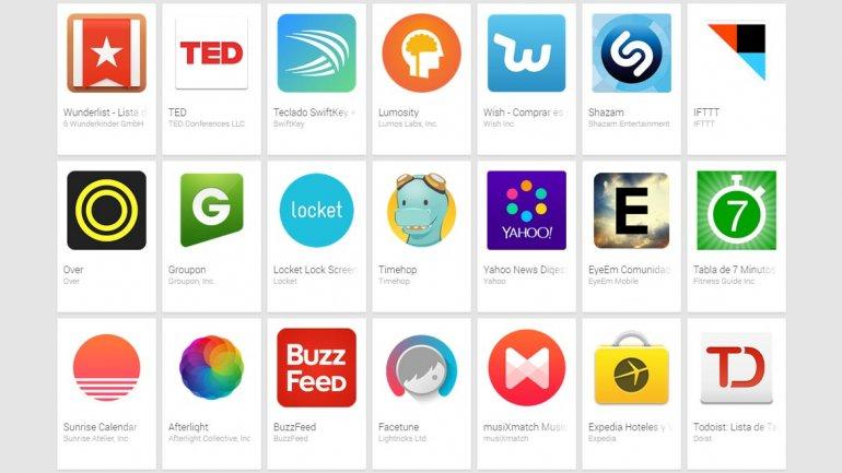 Google eligió las mejores aplicaciones para Android