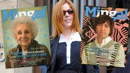 Estela de Carlotto y Adrián Dargelos son parte del Nº15 de la revista Minga!