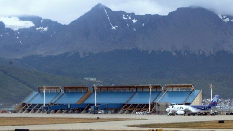 Aeropuerto de Ushuaia (Malvinas Argentinas), inaugurado en 1995