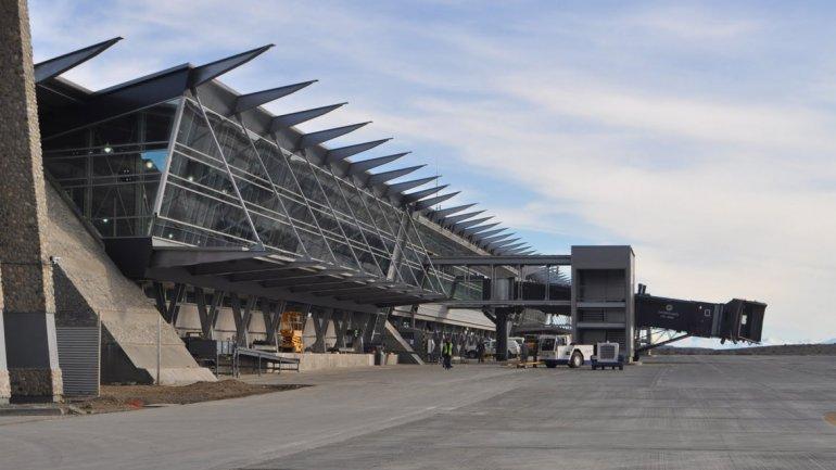 Aeropuerto de El Calafate, construido entre 1997 y 2000