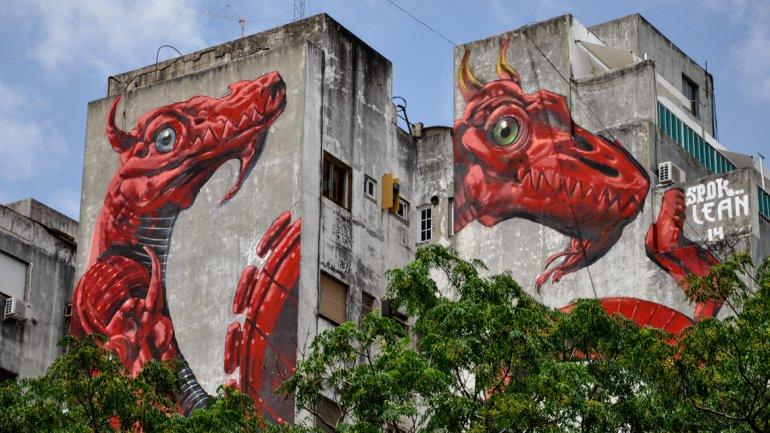 El street art llega a palermo taringa for Murales faciles y creativos