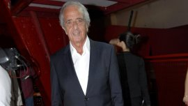 Rodolfo DOnofrio, presidente del club River Plate