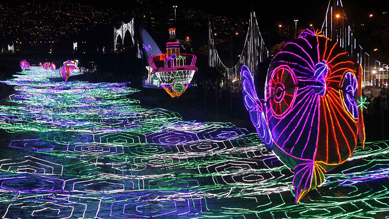 Imagenes luces de navidad en el mundo taringa - Fotos de decoraciones de navidad ...