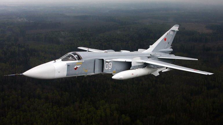 El bombardero Sukhoi-24M aún es el principal aparato de choque de la aviación rusa, pero lentamente es sustituido por el moderno Su-34