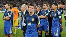 El seleccionado argentino no pudo conseguir su tercer título del mundo, al perder frente a Alemania por 1-0 en la final del Mundial Brasil 2014