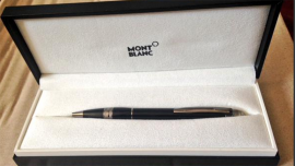 El bolígrafo Mont Blanc que regaló el ministro Alak