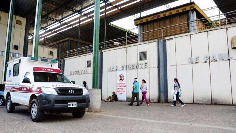 ElHospital San Vicente de Paul, de la localidad de Orán, donde fue trasladado Alan Mijael Villena para que le realicen la autopsia