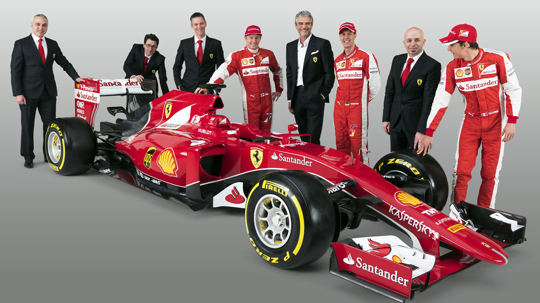 La escudería Ferrari de Fórmula 1 presentó este viernes, en su página de internet, su nuevo monoplaza, el SF15-T