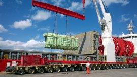 Los transformadores de energía trabajan a máxima potencia
