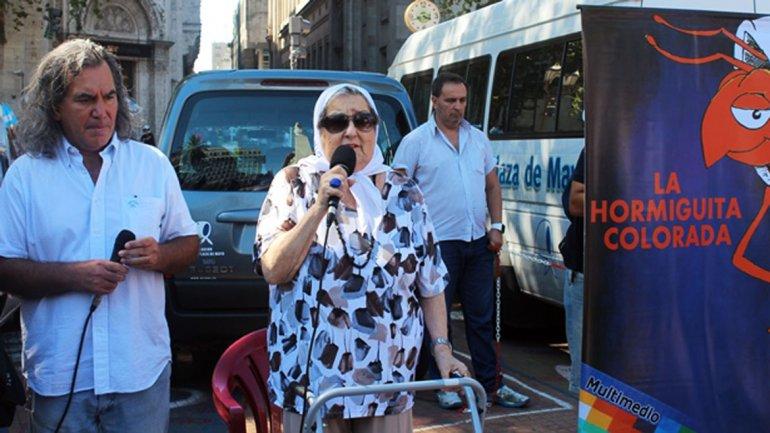 Hebe de Bonafini: Que Scioli deje de pedirle a Cristina