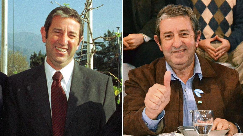Un lozano Julio Cobos como gobernador de Mendoza (2004), ahora un curtido diputado y precandidato a la Presidencia (2015).
