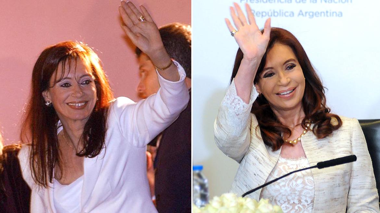 Cristina Kirchner, de primera dama y senadora a Presidente de la Nación