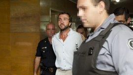 Alejandro Vandenbroele, detenido en el juzgado.