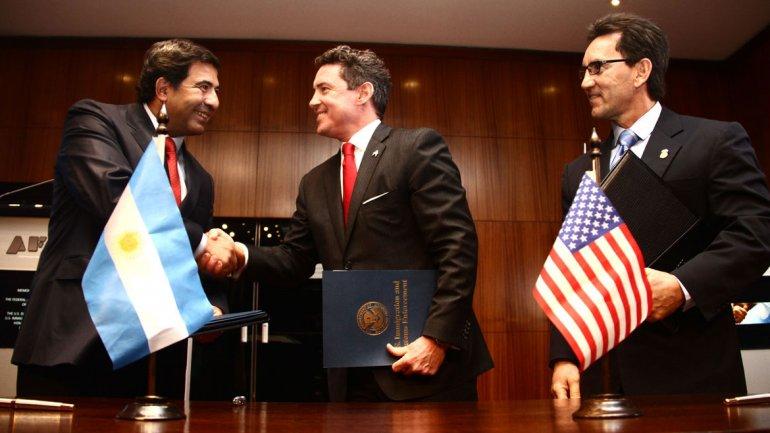Argentina y los EEUU retoman el intercambio de información sobre comercio exterior