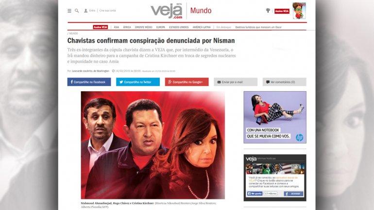 Ex chavistas confirman la conspiración denunciada por Nisman