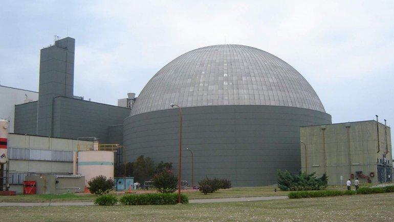 Foto archivo: la central nuclear de Atucha I.