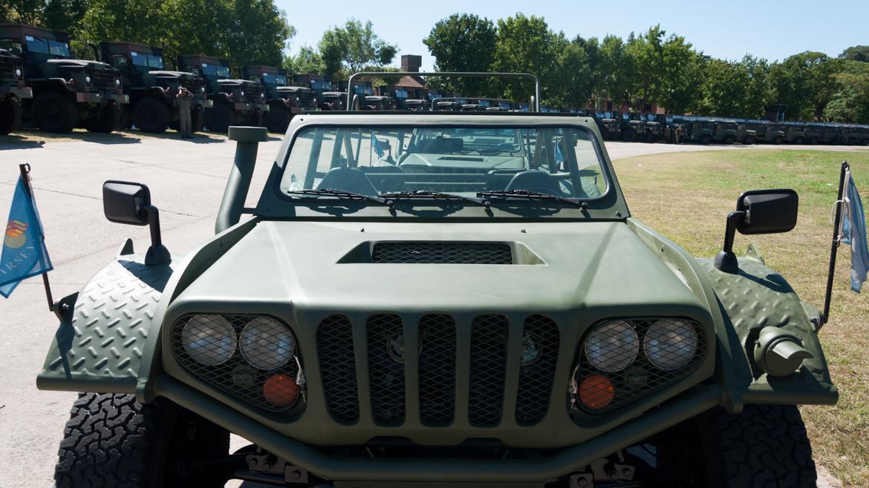 El Ejército fue reforzado con 35 vehículos Hummer comprados en los Estados Unidos