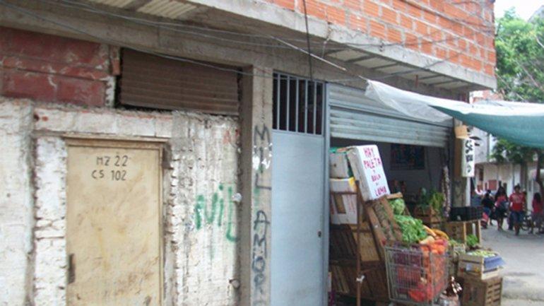 Una casa narco en la manzana 22 de la villa 1-11-14, conocida en la zona como la Puerta 102.