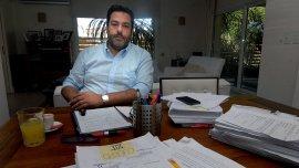 Maximiliano Rusconi, abogado de Diego Lagomarsino.