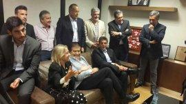 Massa se reunió este jueves con dirigentes del peronismo opositor