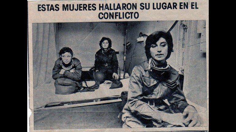 La Fuerza Aérea colocó un hospital reubicable en Comodoro Rivadavia en el que trabajaron trece mujeres con grado de cabo primero.
