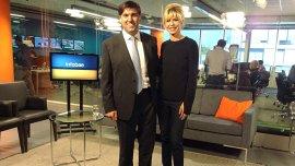 Bossio y Rabolini se encontraron en los estudios de InfobaeTV