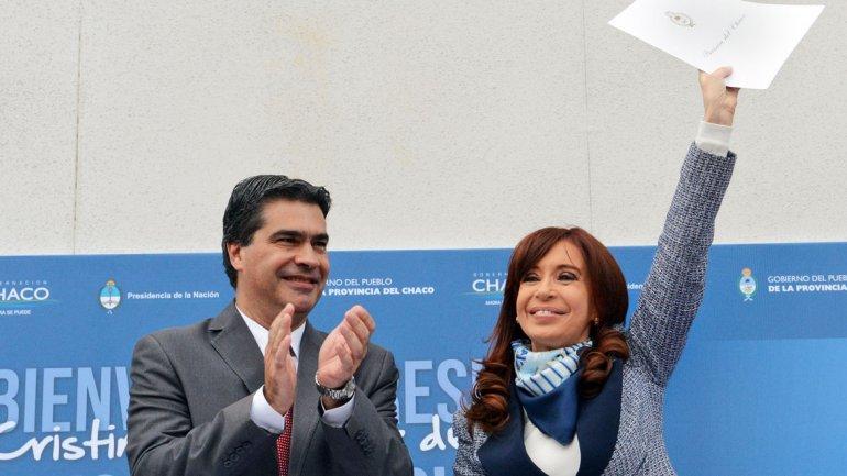 Jorge Capitanich, en sus tiempos de jefe de Gabinete de Cristina Kirchner