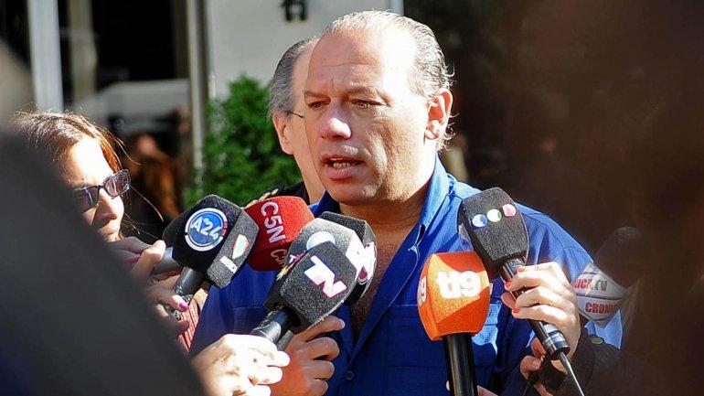 Es una locura, dijo Sergio Berni sobre la acusación de Graciela Ocaña.