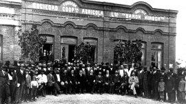 Una de las fotos de la colección AMIA 1860-2015. Los judíos en Argentina