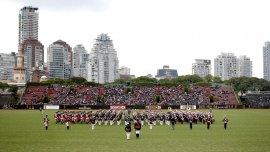 La ceremonia se llevó a cabo este sábado a la tarde en el Campo Argentino de Polo, con asiento en el barrio porteño de Palermo, con la asistencia del jefe del Ejército.