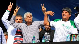 Hugo Moyano conducirá Camioneros por otros cuatro años junto a su hijo Pablo