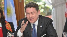 Noah Mamet quedó a cargo de la embajada de EEUU desde fines del año pasado