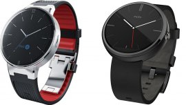 Alcatel One Touch Smartwatch y Moto 360