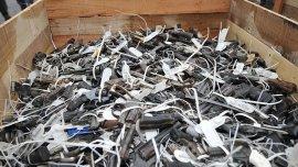 Operativo de destrucción de pistolas recuperadas en el marco del plan de desarme (Imagen de archivo)