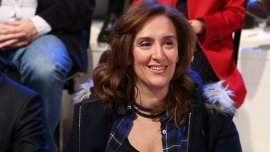 Gabriela Michetti regresó de una gira internacional