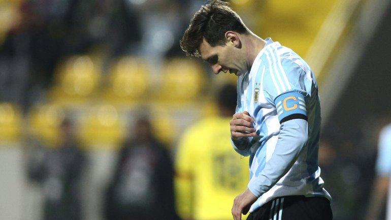 En la etapa de Martino, Messi apenas marcó un gol oficial