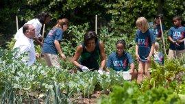 Michelle Obama: glamour y acción social.